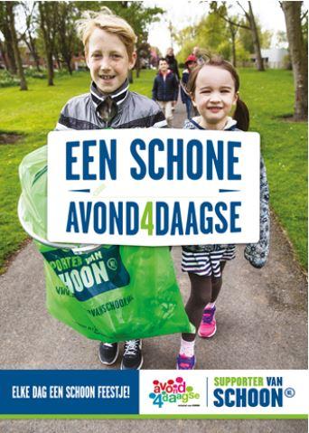 Poster Supporter van Schoon